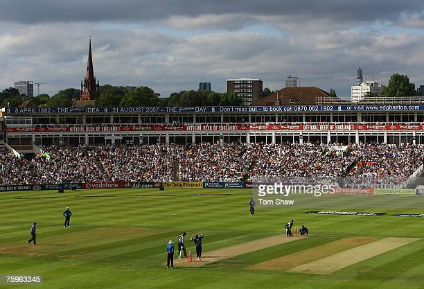 A general view during the Twenty20 Cup Semi Final match between Kent Spitfires and Sussex Sharks at Edgbaston on August 4 2007 in Birmingham England