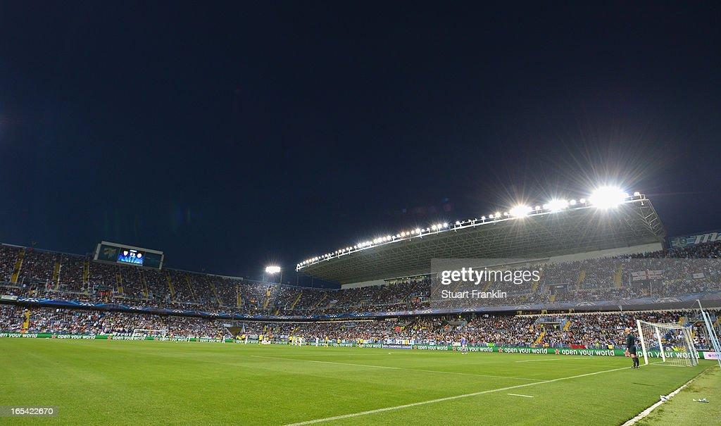 Malaga CF v Borussia Dortmund - UEFA Champions League Quarter Final : ニュース写真