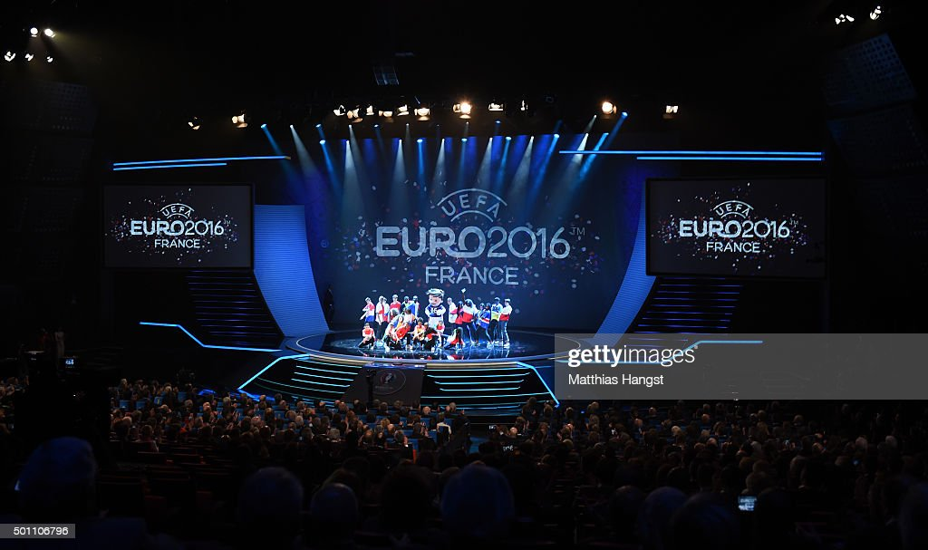 UEFA Euro 2016 Final Draw Ceremony : News Photo