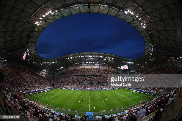 A general view during the UEFA EURO 2016 Group B match between England and Russia at Stade Velodrome on June 11 2016 in Marseille France