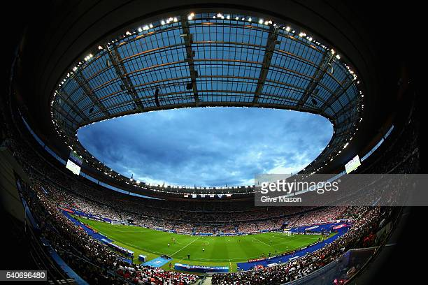 A general view during the UEFA EURO 2016 Group C match between Germany and Poland at Stade de France on June 16 2016 in Paris France