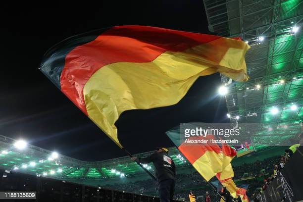 A general view during the UEFA Euro 2020 Qualifier between Germany and Belarus on November 16 2019 in Moenchengladbach Germany