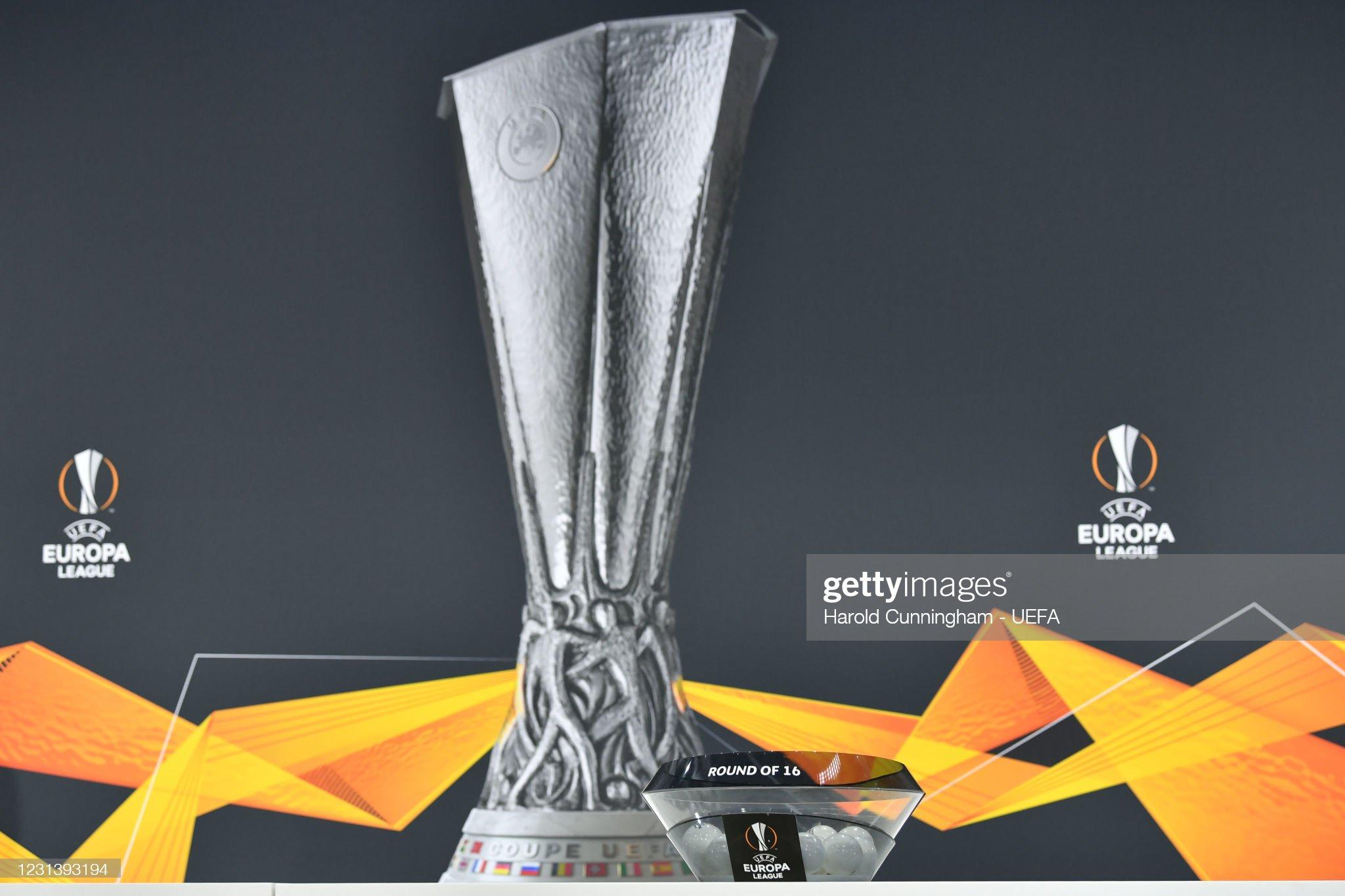 UEFA Europa League 2020/21 Round of 16 Draw : News Photo