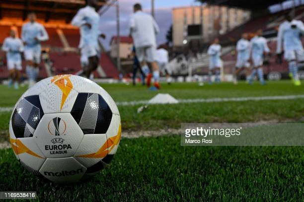 General view during the UEFA Europa League group E match between CFR Cluj and Lazio Roma at Dr.-Constantin-Radulescu-Stadium on September 19, 2019 in...
