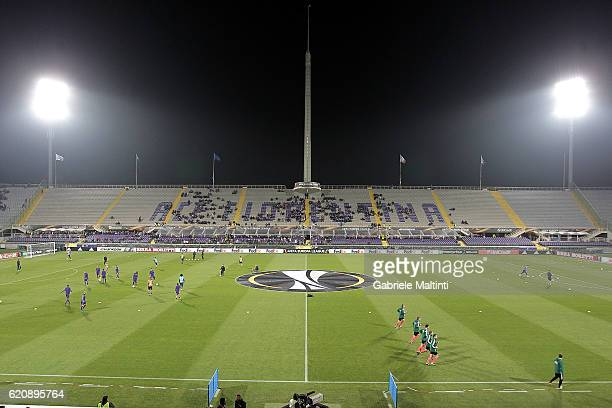 General view during the UEFA Europa League match between ACF Fiorentina and FC Slovan Liberec at Artemio Franchi on November 3, 2016 in Florence, .