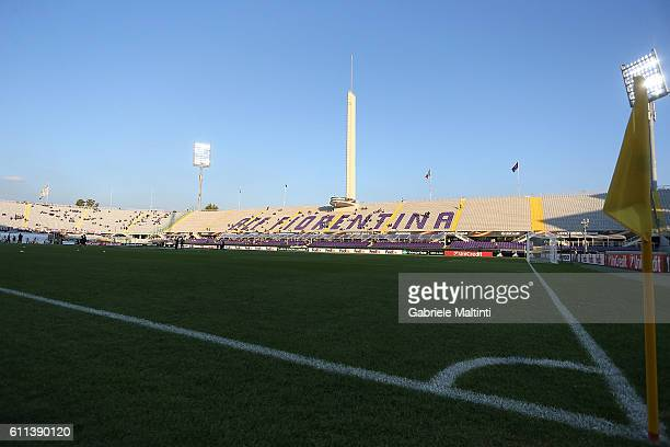 General view during the UEFA Europa League match between ACF Fiorentina and Qarabag FK at Artemio Franchi on September 29 2016 in Florence