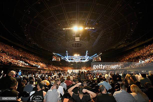A general view during the UFC 199 event at the Forum on June 4 2016 in Inglewood California