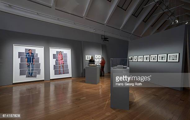 A general view during the 'Ulay LifeSized' exhibition preview at Schirn Kunsthalle on October 12 2016 in Frankfurt am Main Germany