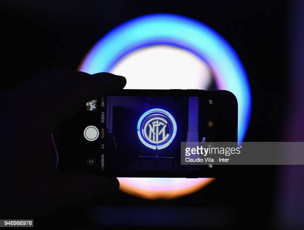 A general view during the unveiling of FC Internazionale 'Innovative Passion' Concept At Milan Design Week on April 16 2018 in Milan Italy