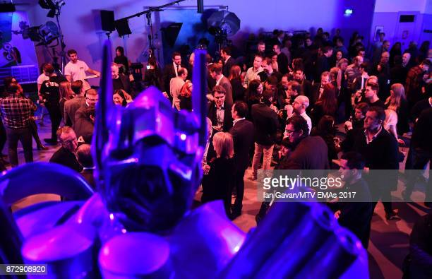 A general view during the Velocity 'On Set with Viacom' Showcase held at Ambika P3 ahead of the MTV EMAs 2017 on November 11 2017 in London England...