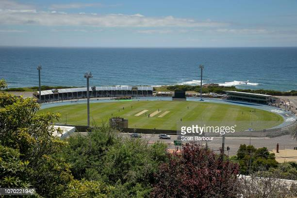 A general view during the Women's Big Bash League match between the Hobart Hurricanes and the Melbourne Stars at West Park Burnie on December 9 2018...