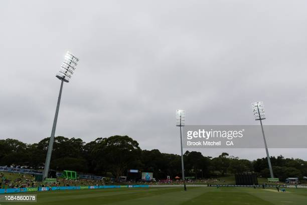 A general view during the Women's Big Bash League Semi Finals on January 19 2019 in Sydney Australia