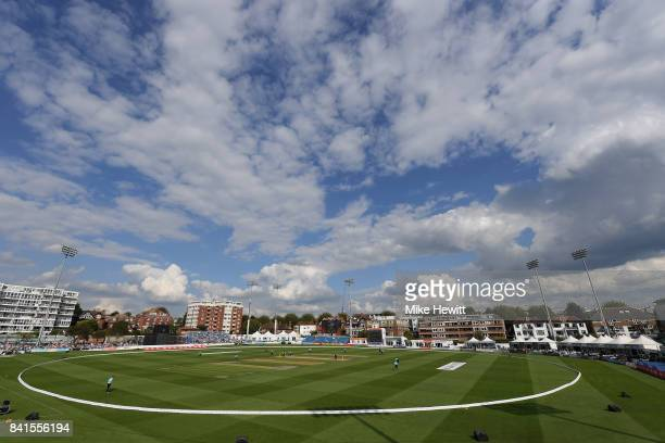 General view during the Women's Kia Super League Semi Final between Surrey Stars and Western Storm at The 1st Central County Ground on September 1,...