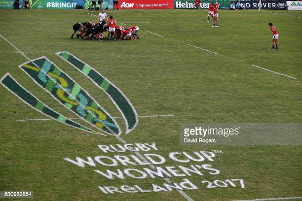 A general view during the Women's Rugby World Cup 2017 match between New Zealand and Hong Kong on August 13 2017 in Dublin Ireland