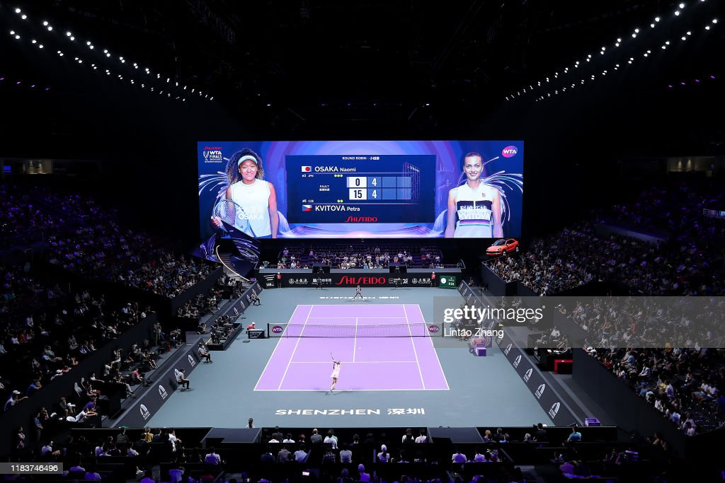 2019 WTA Finals - Day One : ニュース写真