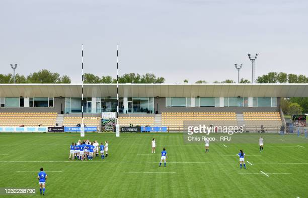 General view during the Women's Six Nations match between Italy and England at Stadio Sergio Lanfranchi on April 10, 2021 in Parma, Italy.