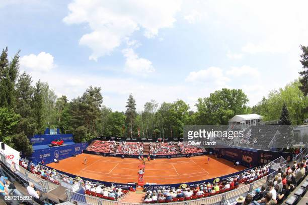 A general view during the WTA Nuernberger Versicherungscup on May 23 2017 in Nuernberg Germany