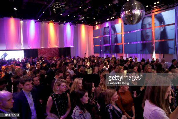 General view during the Young ICONs Award in cooperation with ICONIST at SpindlerKlatt on February 14 2018 in Berlin Germany