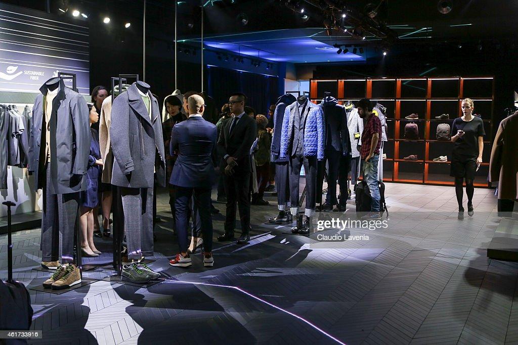 Z ZEGNA Presentation - Milan Menswear Fashion Week/Fall Winter 2015/2016 : News Photo