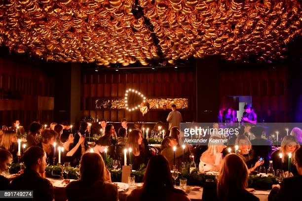 General view during the Zalando xmas bash hosted by Alek Wek at Haus Ungarn on December 13 2017 in Berlin Germany