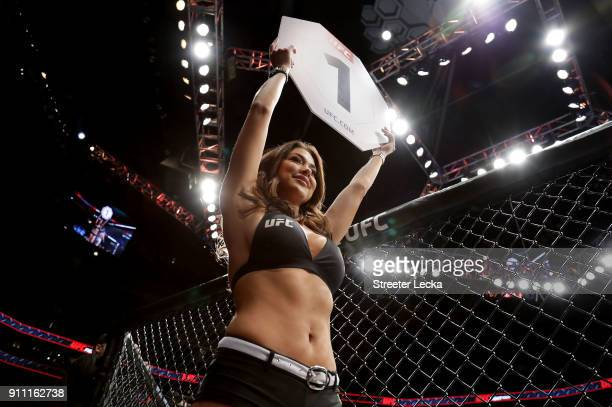 A general view during UFC Fight Night at Spectrum Center on January 27 2018 in Charlotte North Carolina