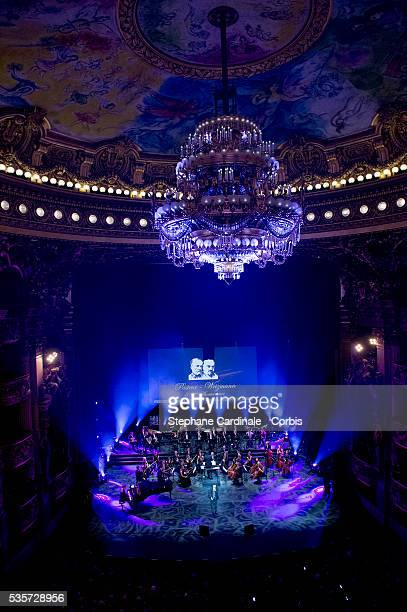 General View during Weizmann Institute celebrates its 40 Anniversary at Opera Garnier in Paris on January 12 2015 in Paris France