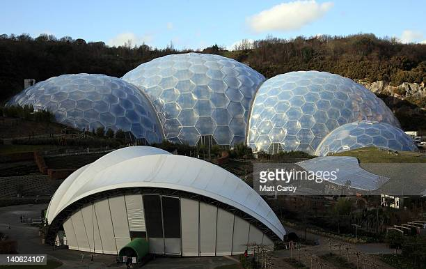 General view during World Cornish Pasty Championships of the Eden Project on March 3, 2012 in St Austell, England. To celebrate the popular local...