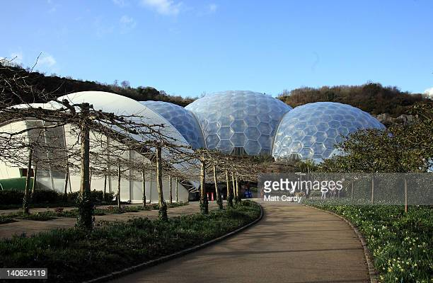 A general view during World Cornish Pasty Championships of the Eden Project on March 3 2012 in St Austell England To celebrate the popular local...