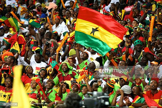 AFRICA JANUARY 28 General view fans during the 2013 Orange African Cup of Nations match between Niger and Ghana from Nelson Mandela Bay Stadium on...