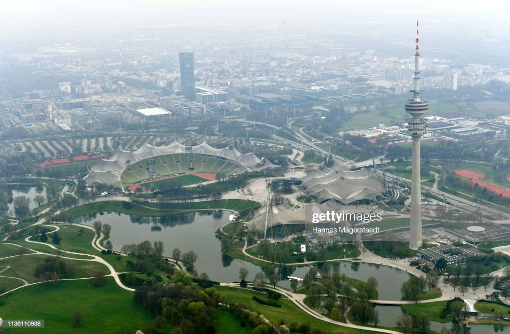 DEU: Munich As Seen From A Zeppelin