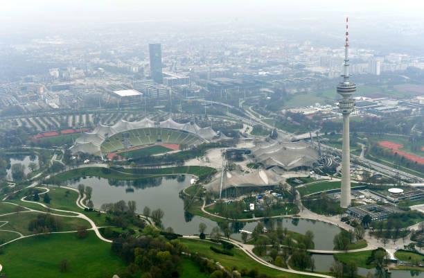 DEU: Munich As Seen From A Zeppelin
