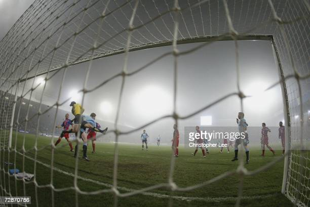 General view from behind the goal during the CocaCola Championship match between Crystal Palace and Sunderland at Selhurst Park on December 22 2006...