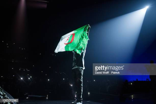 General view from Booba Show at U Arena on October 13 2018 in Nanterre France