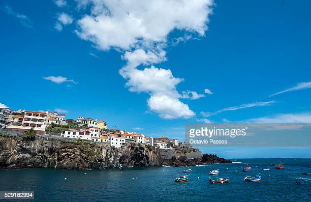 A general view from Camera de Lobos city on May 8 Madeira Portugal
