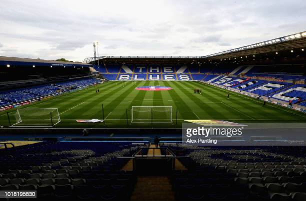 A general view from inside the stadium prior to the Sky Bet Championship match between Birmingham City and Swansea City at St Andrew's Trillion...
