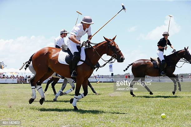 General view from Magic Millions Polo Event on January 8 2017 in Gold Coast Australia