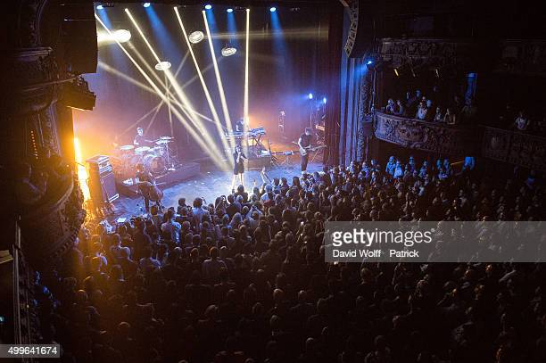 General View from Marina Kaye Show at Le Trianon on December 2 2015 in Paris France