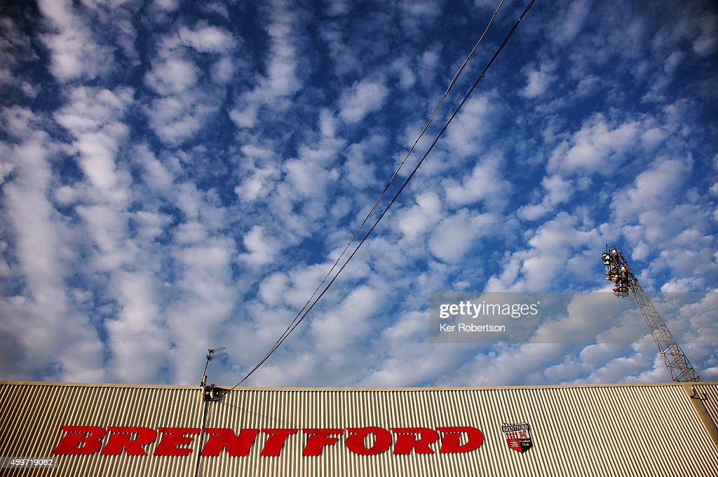 General view from outside the stadium before the Sky Bet Championship match between Brentford and Wolverhampton Wanderers at Griffin Park on November 29, 2014 in Brentford, England.