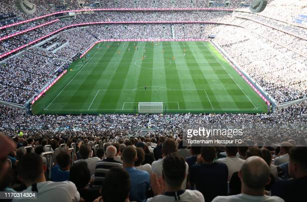 General view from the back of the South Stand during the Premier League match between Tottenham Hotspur and Newcastle United at Tottenham Hotspur...