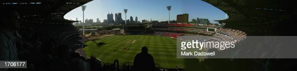 A general view from the Great Southern Stand during day one of the Boxing Day Fourth Ashes Test between Australia and England held at the Melbourne...