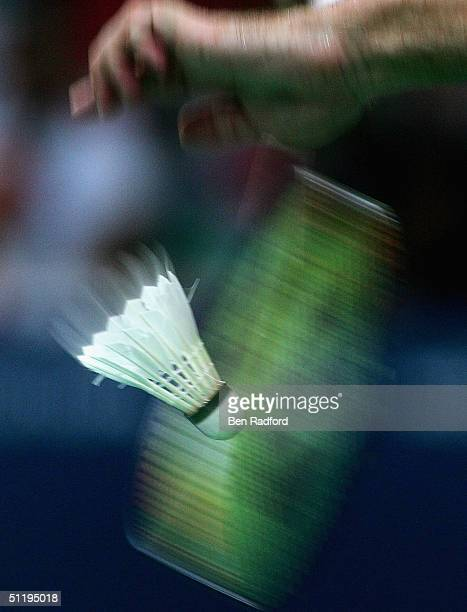 General view from the match played between Eng Hian and Flandy Limpele of Indonesia and Jens Eriksen and Martin Lundgaard H of Denmark in the men's...