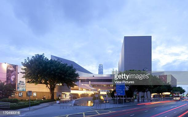 General view from the road, Hong Kong Cultural Centre, Cultural Centre, Asia, Hong Kong Pau Shiu-hung.