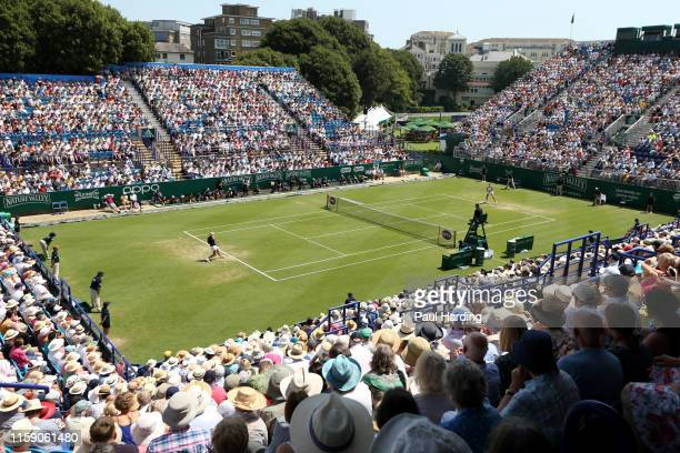 General view from the Women's Singles Final between Angelique Kerber of Germany and Karolina Pliskova of Czech Republic during day 6 of the Nature...