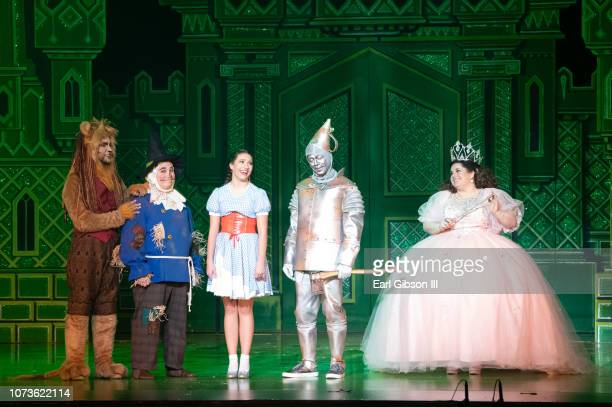 General view from the World Premiere Of Lythgoe Family Pantos' The Wonderful Winter Of Oz Opening Night at Pasadena Civic Auditorium on December 14...
