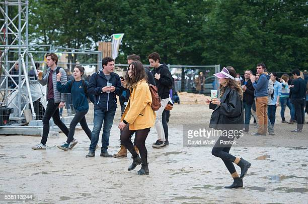 General View from We Love Green Festival Day 01 on June 4 2016 in Paris France