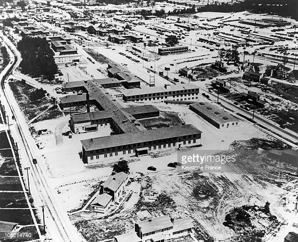 General View In 1945 Of The Clinton Engineer Works Located In Oak Ridge Tennessee Whose Laboratories Were Used To Design And Produce The First Atomic...