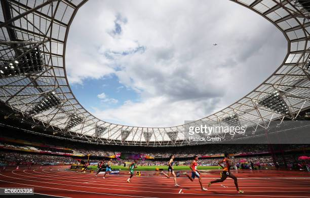 A general view in the Men's 800 metres during day two of the 16th IAAF World Athletics Championships London 2017 at The London Stadium on August 5...