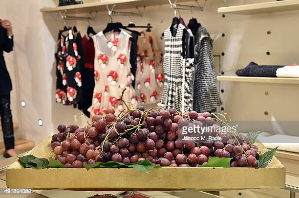 General view inside Banner Shop during 'La Vendemmia 2015' The World's Finest Wine Lifestyle Experience on October 8 2015 in Milan Italy
