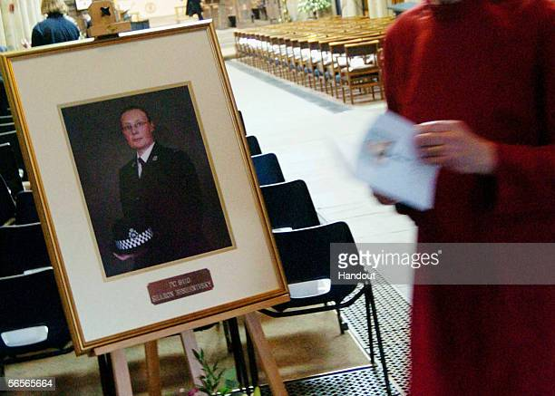A general view inside Bradford Cathedral ahead of the funeral of Police Constable Sharon Beshenivsky on January 11 2006 in Bradford England PC...