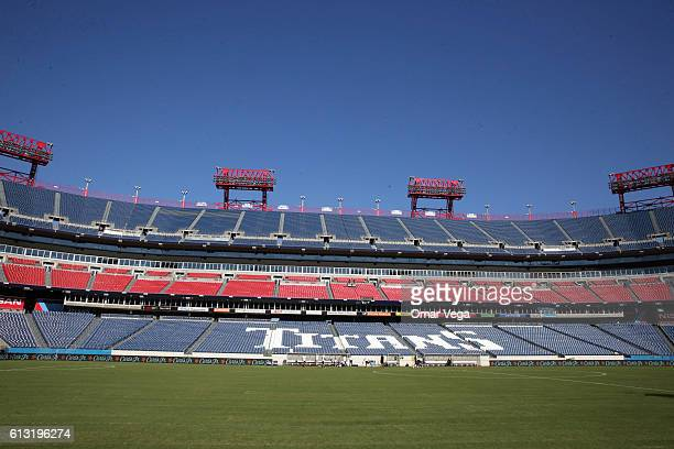A general view inside Nissan Stadium during a New Zealand National Team training session at Nissan Stadium on October 07 2016 in Nashville Tennesse...